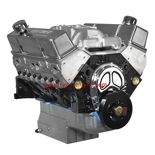 406 CID Crate Engine   Dressed Long Block Engine   Tri Star