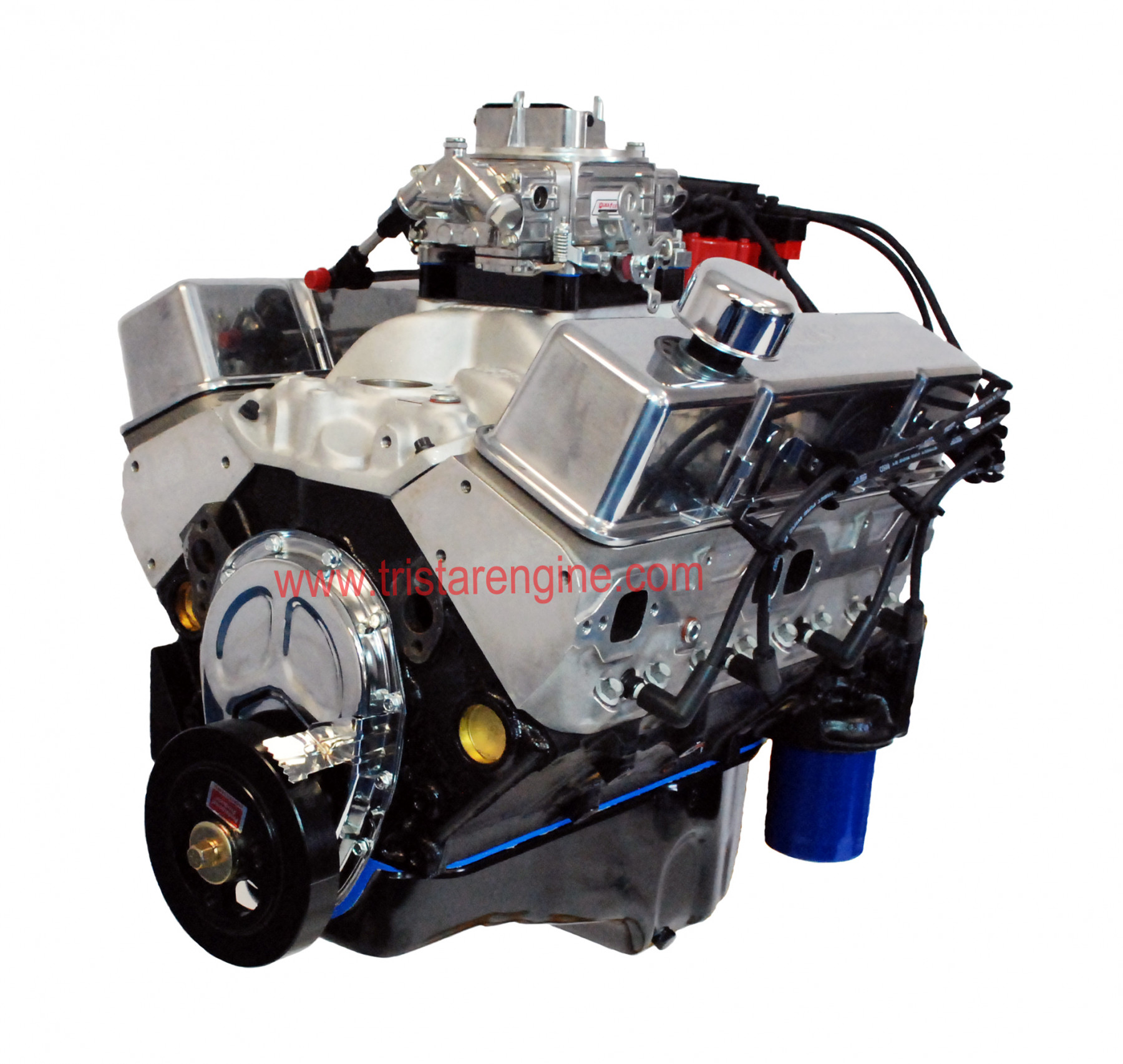 New Sbc With Quick Fuel Carb on Small Block Chevy Crate Engines