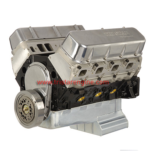 496 Stroker Chevy Crate Engine, Dressed Longblock