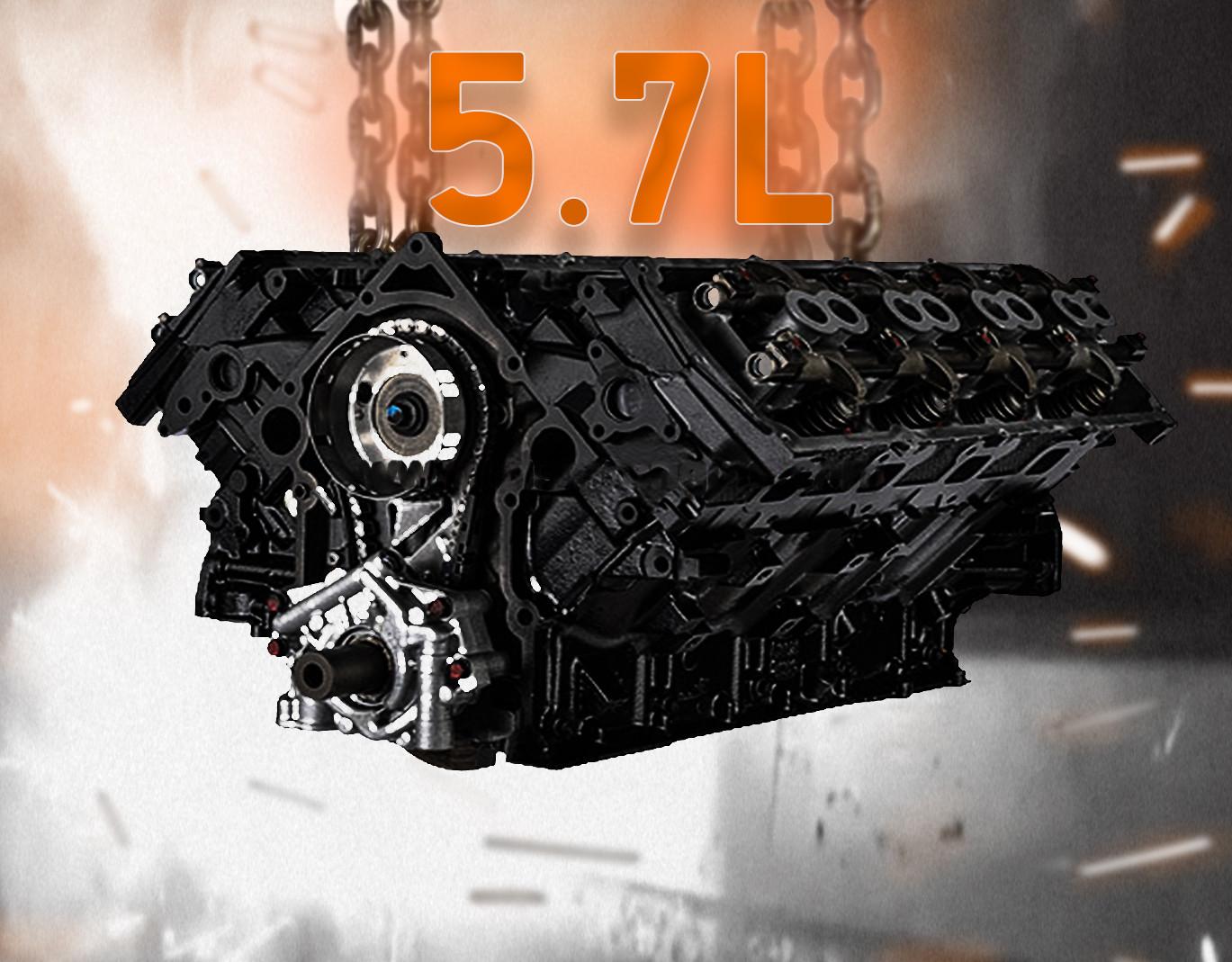 5 7l Hemi Engine