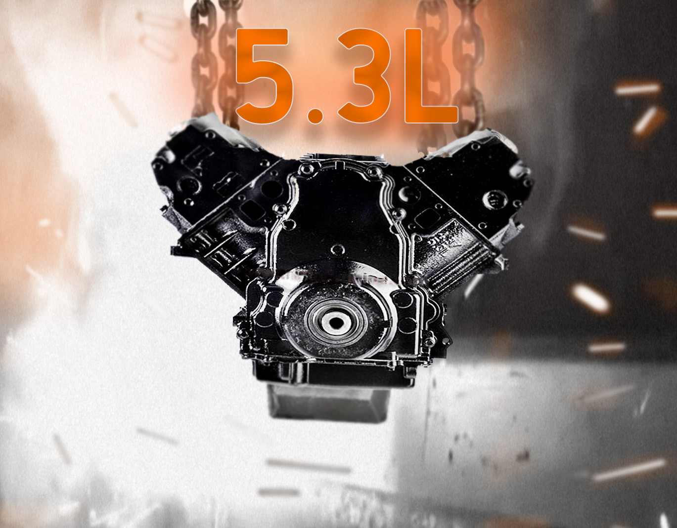 Part# P4263 • 5.3L Remanufactured Engine