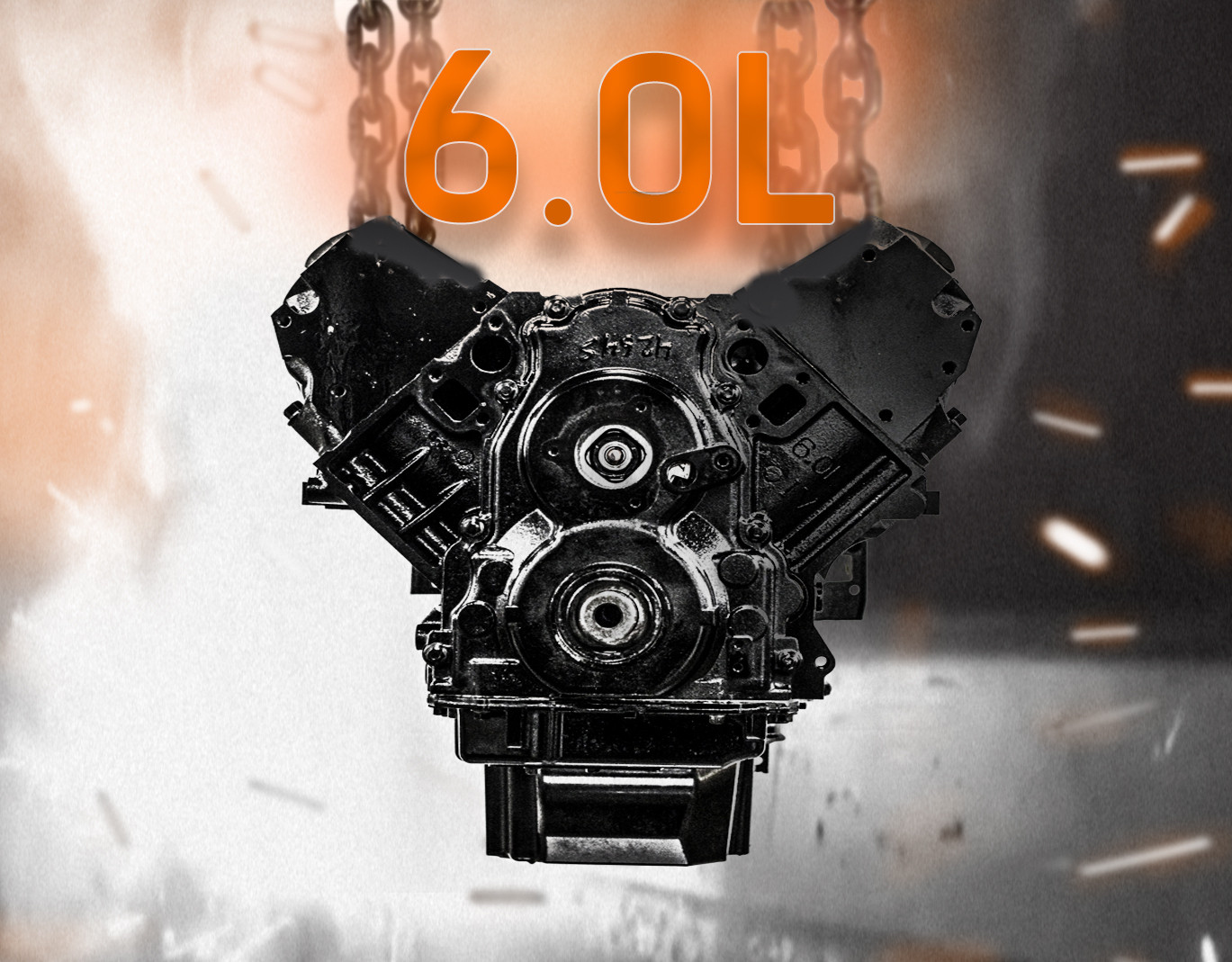 Part# P4230 • 6.0L Remanufactured Engine