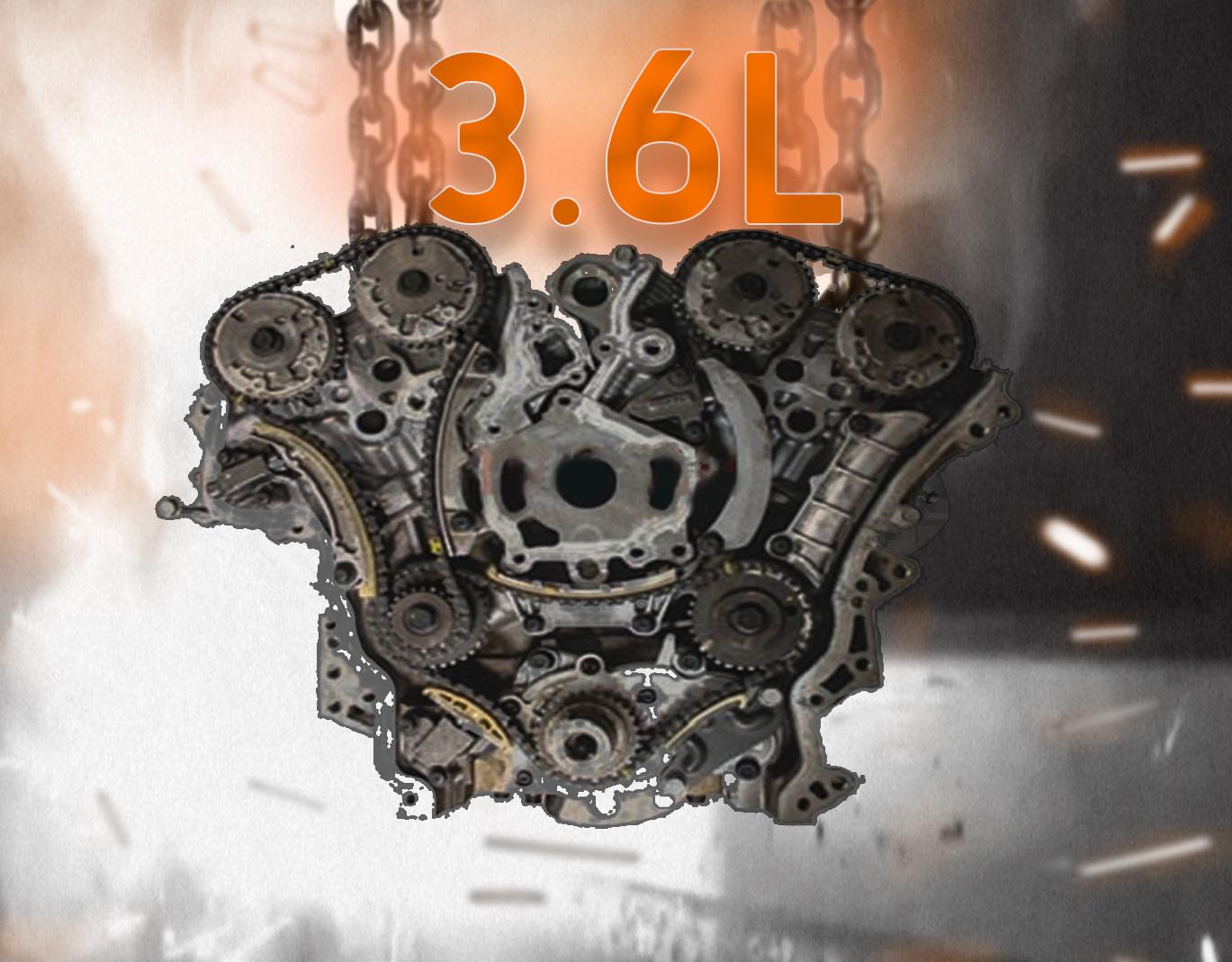 Part# 4252 • 3.6L • 3.6L Long Block Remanufactured Engine