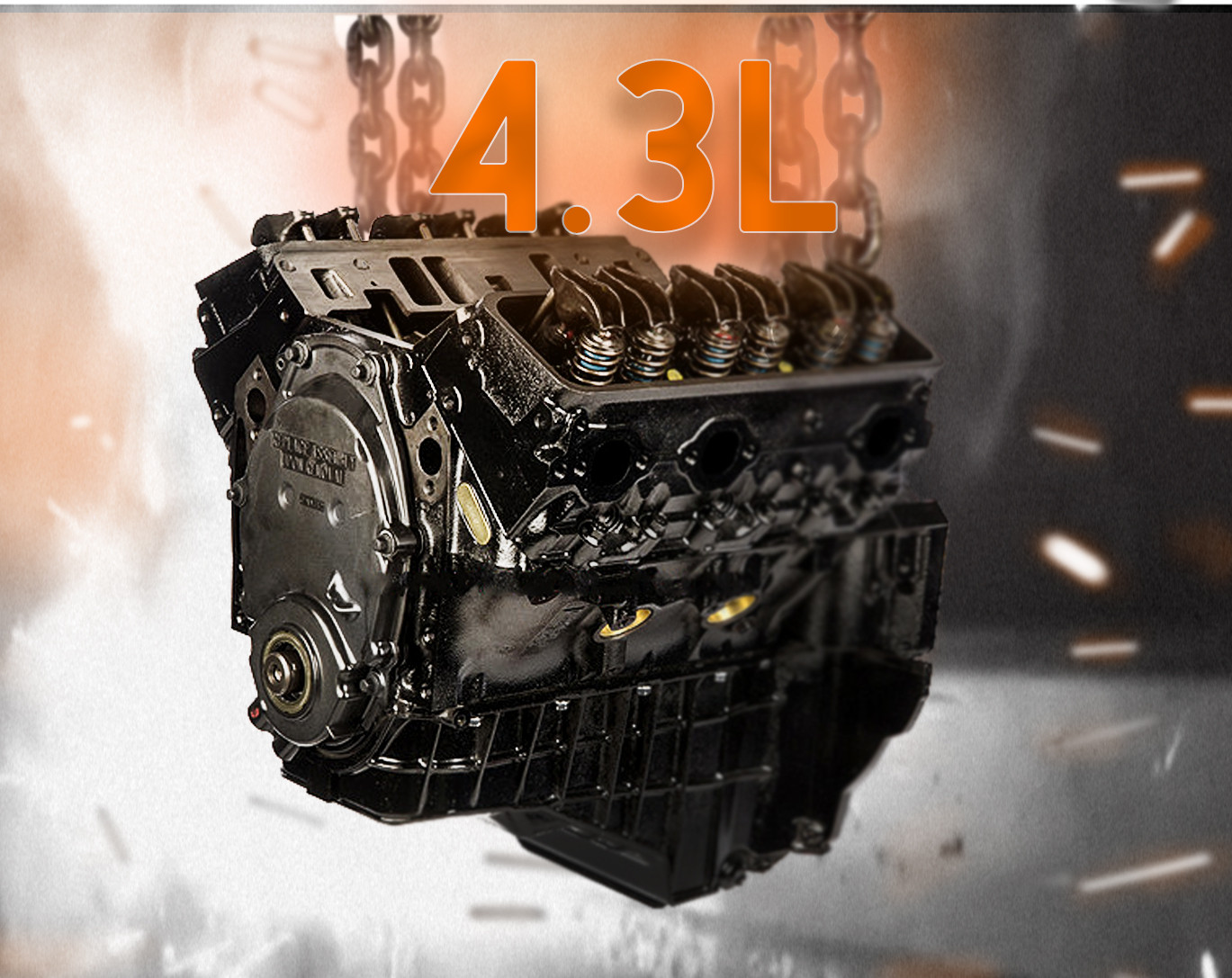 4 3L Performance Marine Engine | GM Engines For Sale