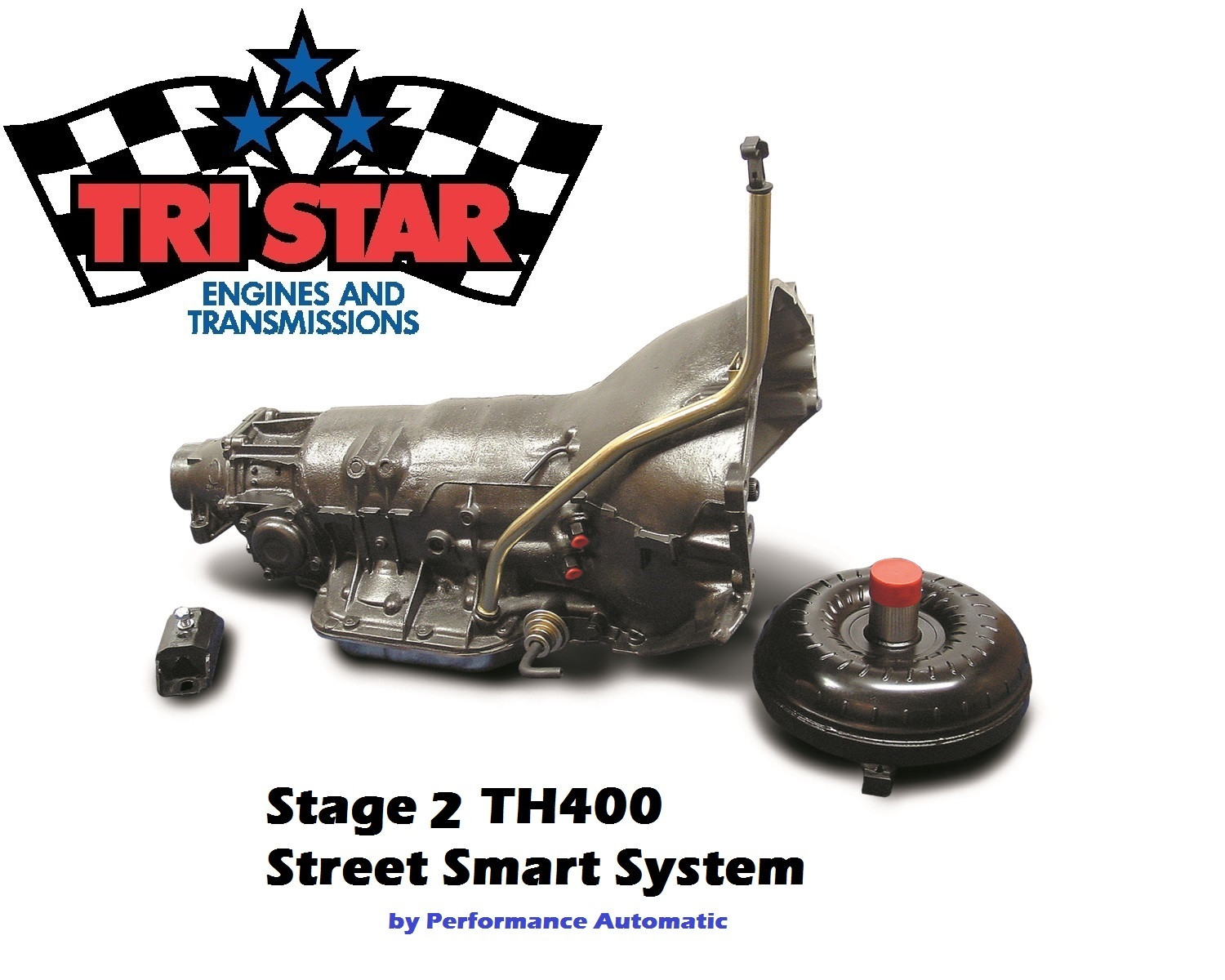TH400 Transmission and Stall Converter | Tri Star Engines