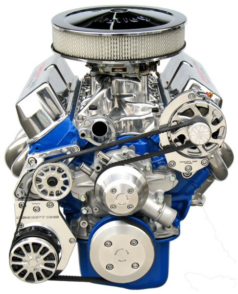 Small Block Ford Kit with Alternator and A/C Tri Star Engines Crate Engine