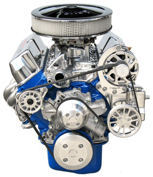 Small Block Ford Kit with Alternator and Power Steering Tri Star Engines Crate Engine