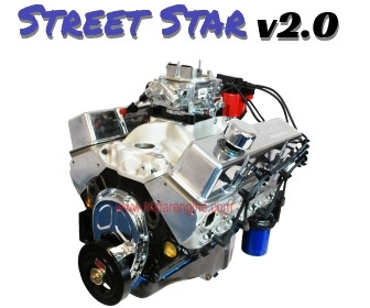 Street Star v2.0 383 Stroker Complete and Dyno Tested Crate Engine
