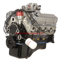 351W High performance complete crate engine with aluminum heads (picture shown with Edelbrock carburetor, actual engine has a Quick Fuel carb)