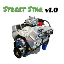 """Street Star"" 383 stroker high performance crate engine"