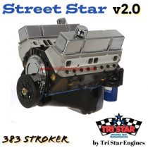 Street Star v2.0 383 Stroker long block Crate Engine