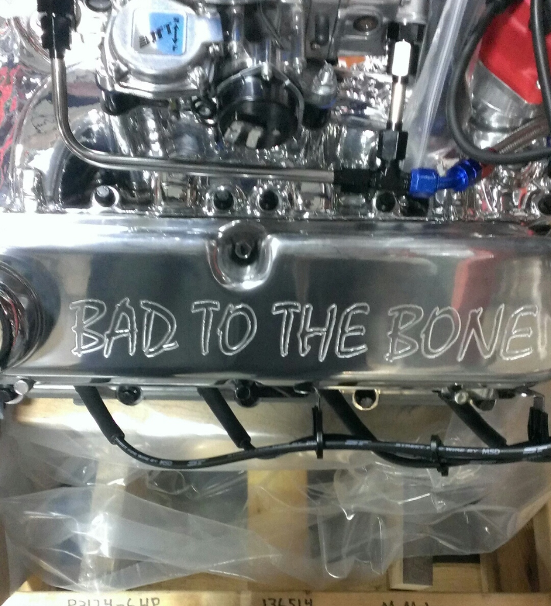 Custom Valve Cover Example
