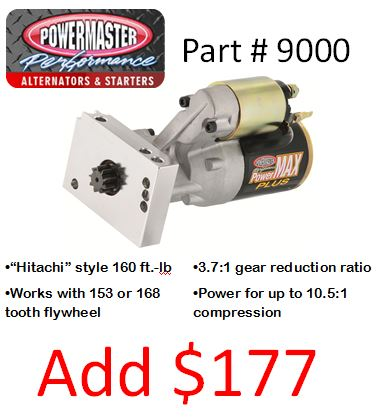 Powermaster Part #9000