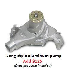 Long style aluminum pump